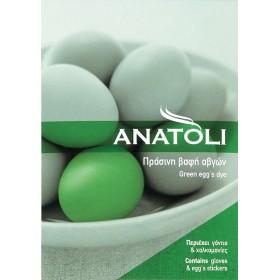 Äggfärg grön ANATOLI
